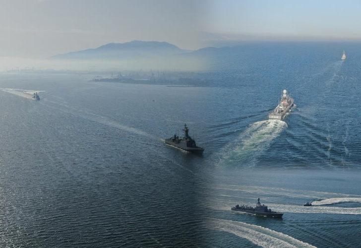 Türkiye'nin en geniş çaplı deniz tatbikatı DENİZKURDU-2021 başladı