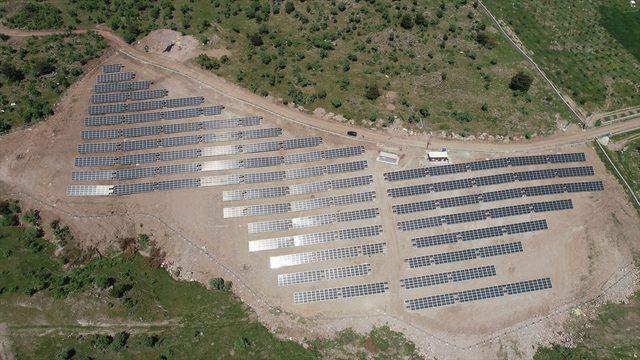 Balıkesir'de Havran Belediyesi 3 bin 780 güneş panelinden elektrik üretmeye başladı