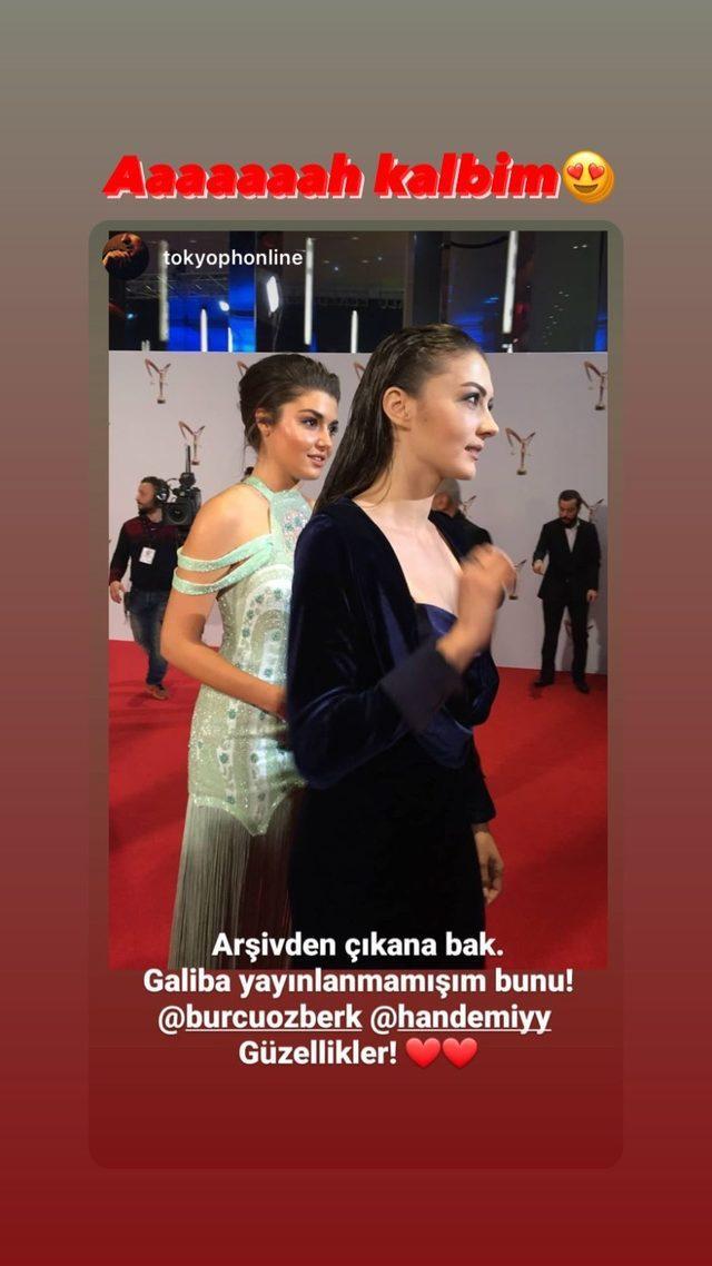 Hande Erçel Burcu Özberk