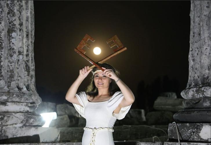"""Muğla'da """"Strayonikeia"""" belgeselinin çekimleri başladı"""
