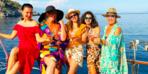 Yasak Elma'nın kadın oyuncuları tatilde