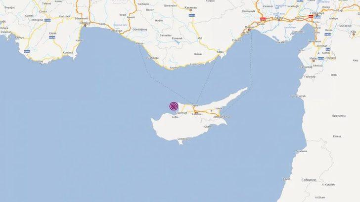 Son dakika: AFAD duyurdu! Akdeniz'de 4.3 büyüklüğünde deprem