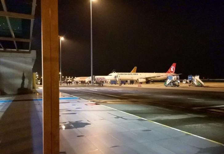 Ordu-Giresun Havalimanı'nda uçağa bomba ihbarı