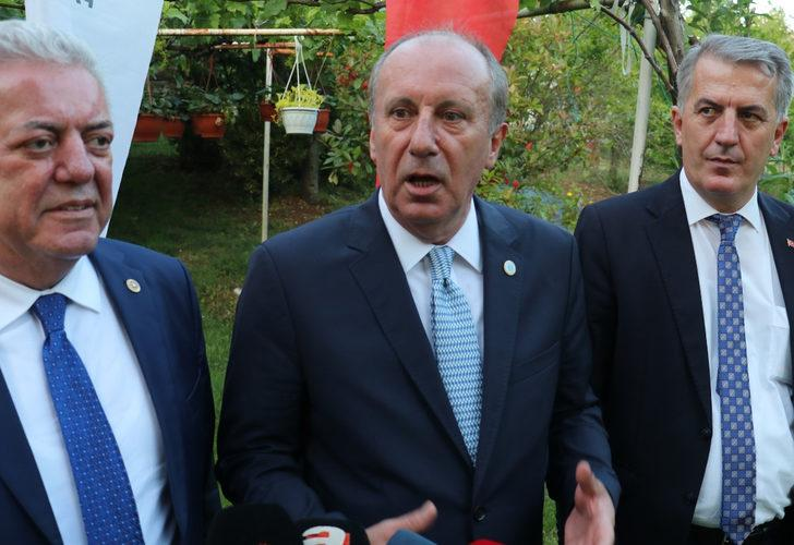 Memleket Partisi lideri Muharrem İnce'den erken seçim açıklaması