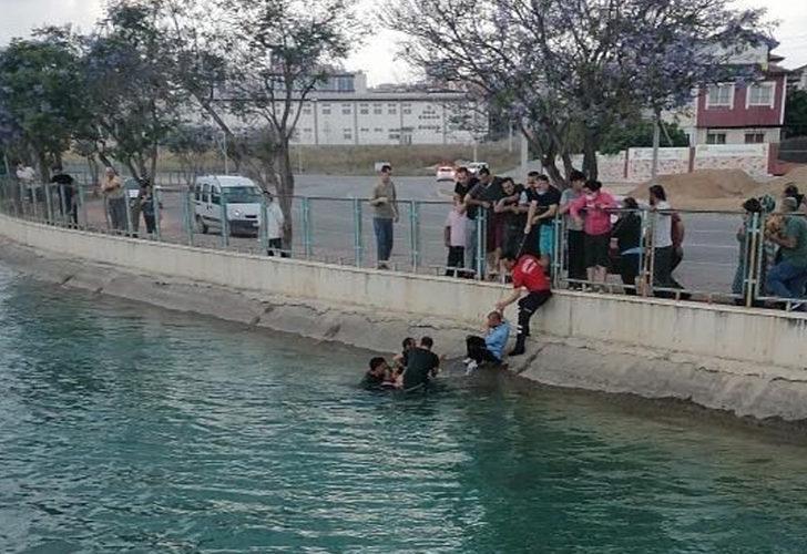 Mersin'de korkunç olay! Sulama kanalına düşen ikizlerden biri kurtarılamadı