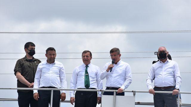 Gelecek Partisi Genel Başkanı Ahmet Davutoğlu Afyonkarahisar'da: