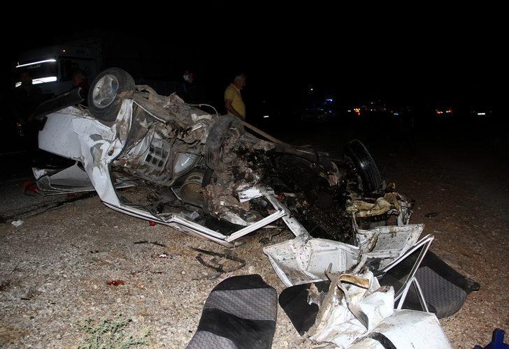 Muğla'da korkunç kaza! İki otomobil kafa kafaya çarpıştı: 1 ölü, 4 yaralı