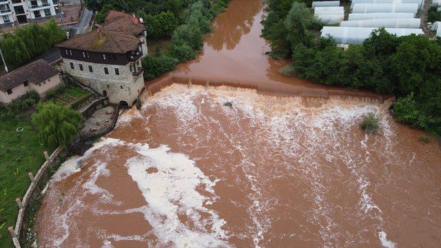Bartın Irmağı suyunun köpürmesiyle ilgili inceleme başlatıldı