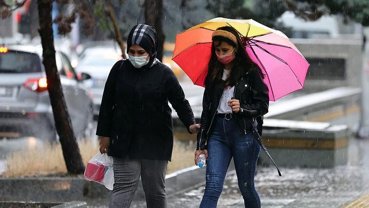 Havalar ne zaman düzelecek? Meteoroloji İstanbul, Ankara, İzmir'in 5 günlük hava durumunu paylaştı