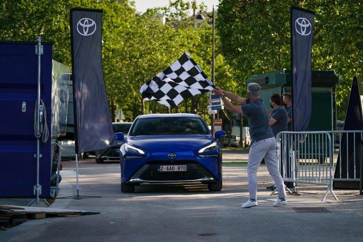 Toyota Mirai rekor kırdı