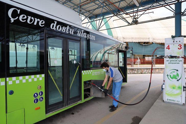 """Kocaeli'de """"çevre dostu"""" otobüslerle 5 ayda 15 milyon lira tasarruf sağlandı"""