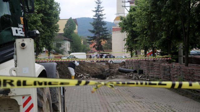 Kastamonu'da göçük altında kalan işçi hayatını kaybetti