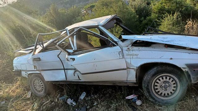 Osmaniye'de otomobil devrildi: 3'ü çocuk 6 yaralı