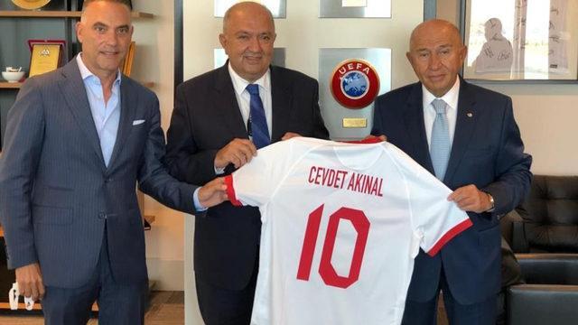 TFF Başkanı Nihat Özdemir'e ziyaret