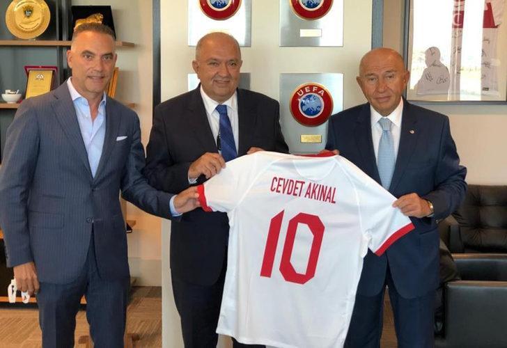 Gaziantep FK Başkanı'ndan Nihat Özdemir'e ziyaret