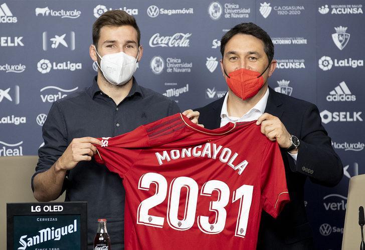 Osasuna'dan Jon Moncayola'ya 10 yıllık sözleşme