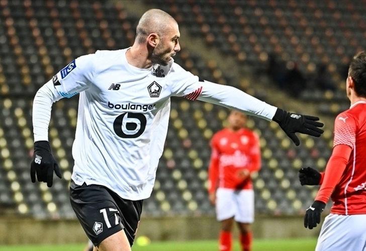 Lille taraftarları, ayın golü oylamasında Burak Yılmaz'ı tercih etti