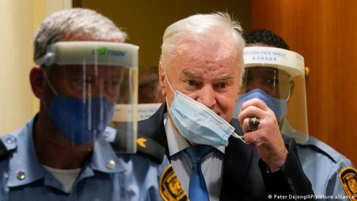 Mladiç hayatı boyunca cezaevinde kalacak