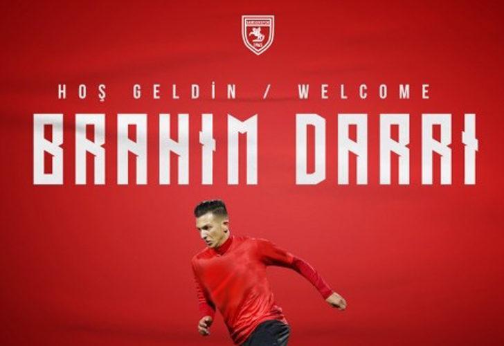 Samsunspor Brahim Darri ile sözleşme imzaladı