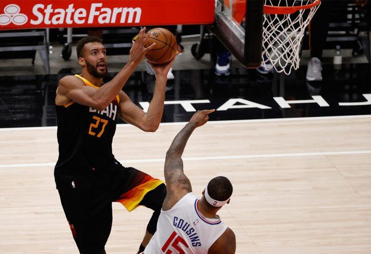 NBA'de yılın savunma oyuncusu olarak Gobert