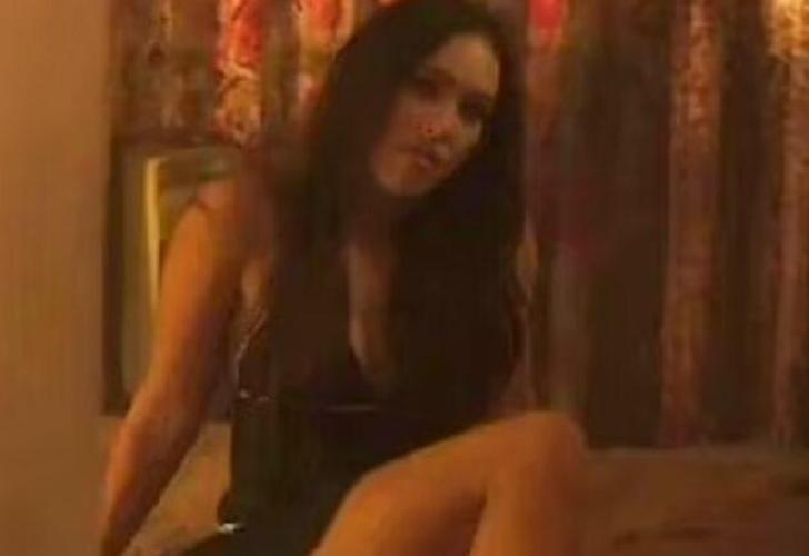 Megan Fox, Midnight in the Switchgrass filminde sevgilisi Machine Gun Kelly'nin burnunu kırdı