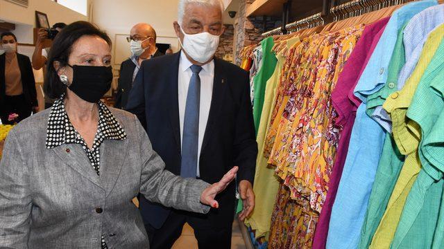 Türkiye'nin ilk kadın valisi Lale Aytaman, Muğla'da ziyaretlerde bulundu: