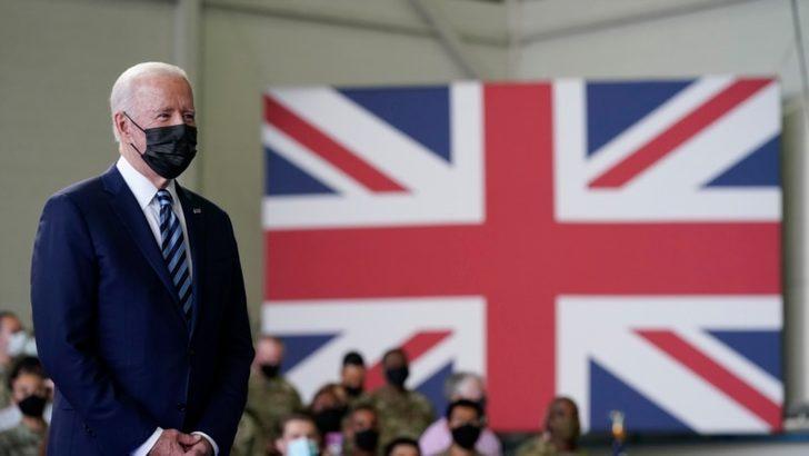 Biden İngiltere'de Müttefiklerle Görüşüyor