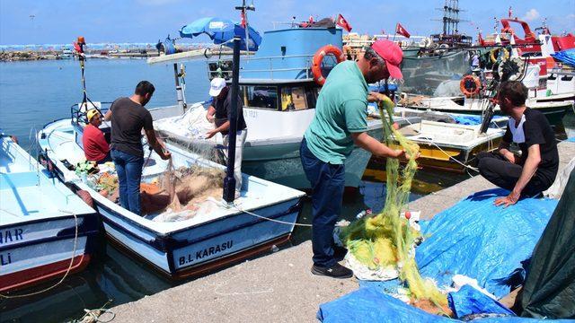 Batı Karadeniz'de kıyı balıkçılığı başladı