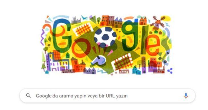 EURO 2020 heyecanı başlıyor! | Google'dan EURO 2020 için Doodle!