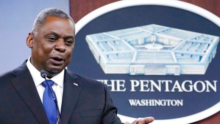 ABD Savunma Bakanı Austin Hulusi Akar'la Görüştü