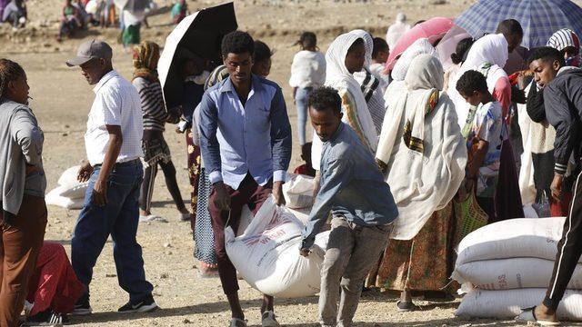 ABD Uluslararası Kalkınma Ajansı Mart ayında Tigray'a yardım gönderdi