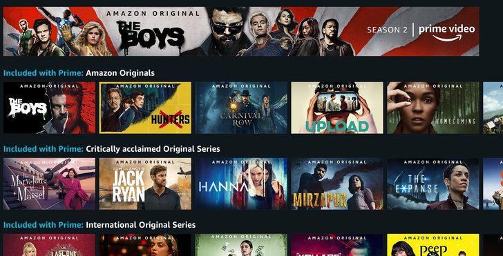 Netflix'i tüketenlerden misiniz? En iyi Amazon Prime dizilerini keşfedin