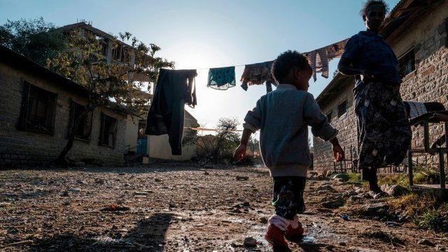 Tigray Mekele Şubat 24, 2021.