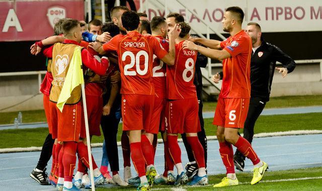 Kuzey Makedonya Cumhuriyeti Milli Futbol Takımı