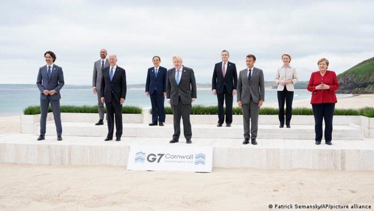 G7 Zirvesi 1 milyar doz aşı beklentisi ile başladı