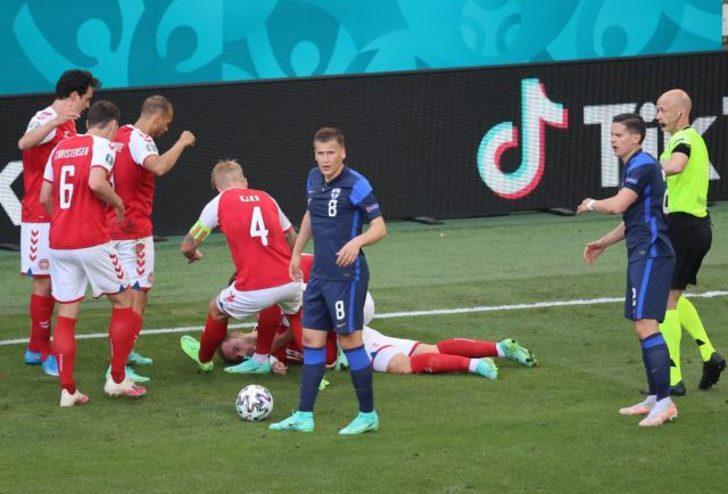 EURO 2020 Danimarka Finlandiya maçı ne zaman? Ertelenen maç ne zaman oynanacak?