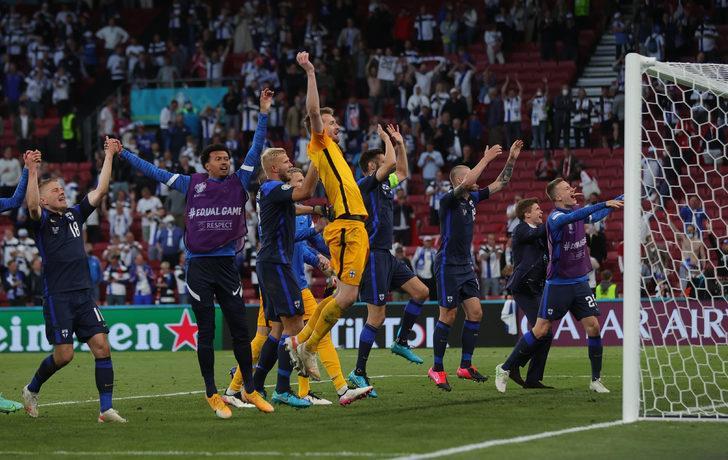 MAÇ SONUCU | Danimarka 0-1 Finlandiya
