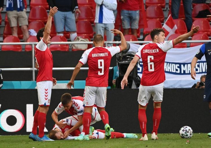 Danimarka Futbol Federasyonu açıkladı! İşte Eriksen'in son durumu