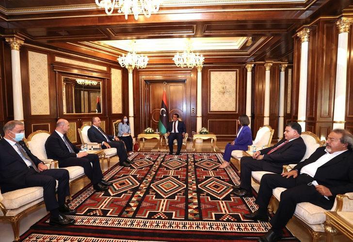 Türk üst düzey heyetinden Libya'da kritik temaslar