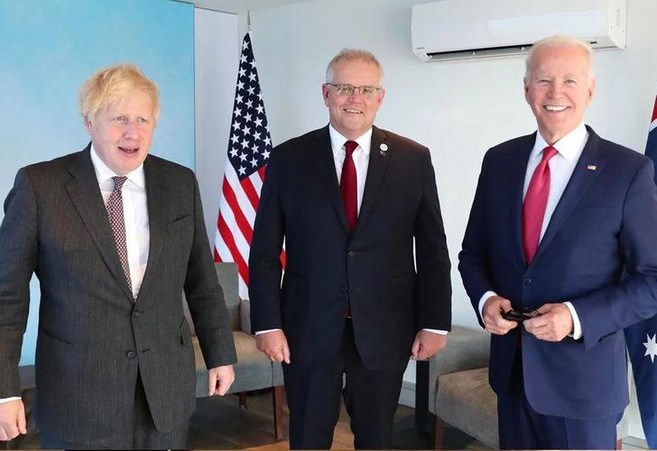 Johnson, Biden ve Morrison arasında önemli görüşme