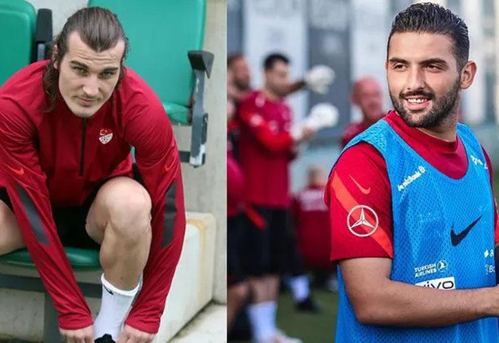Türkiye-Galler maçı öncesi Çağlar Söyüncü ve Umut Meraş şoku