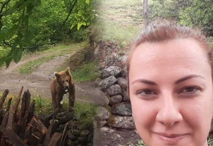 Yer: Artvin! Köye inen ayı ile selfie çekti