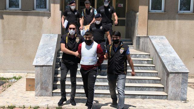Tekirdağ'da cinayet zanlısı, güvenlik kamerası kayıtlarından yakalandı