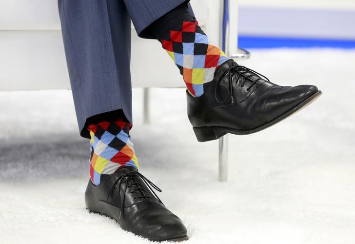Kanada Başbakanı Justin Trudeau, NATO Zirvesi'ne çoraplarıyla damga vurdu