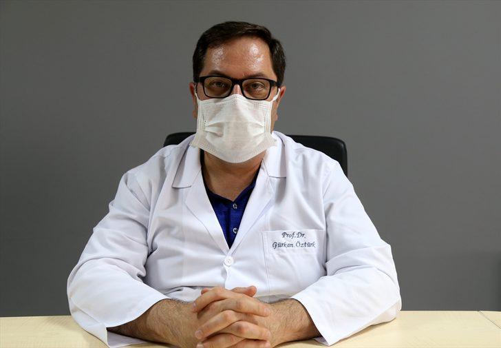Erzurum'da Kovid-19 tedbirleriyle sterilizasyonu korunan merkezde 40 hasta organ nakliyle hayata bağlandı