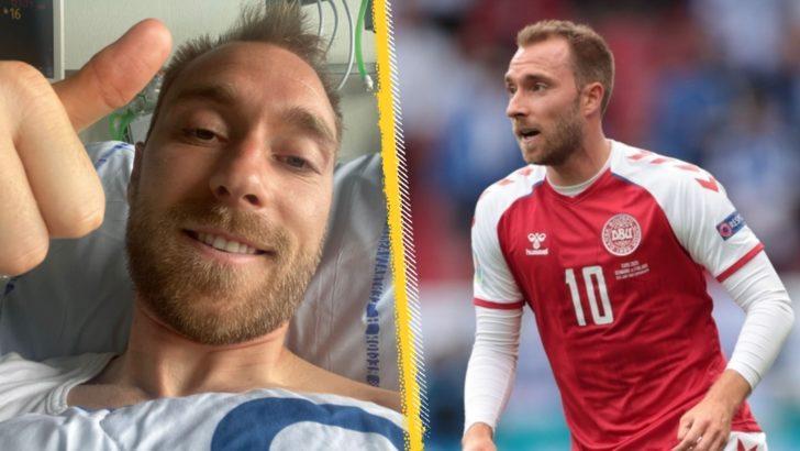 EURO 2020: Christian Eriksen hastane odasından mesaj gönderdi, 'Bu koşullar altında iyiyim' dedi