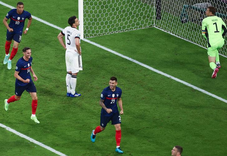 Fransa, Almanya'yı 1-0 devirdi