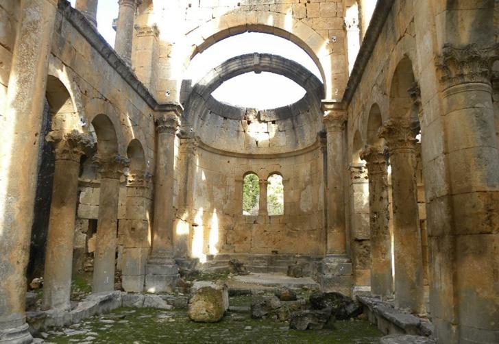 Mersin'in Ayasofya'sı olarak bilinen 'Alahan Manastırı' turistlerin odak noktası oldu