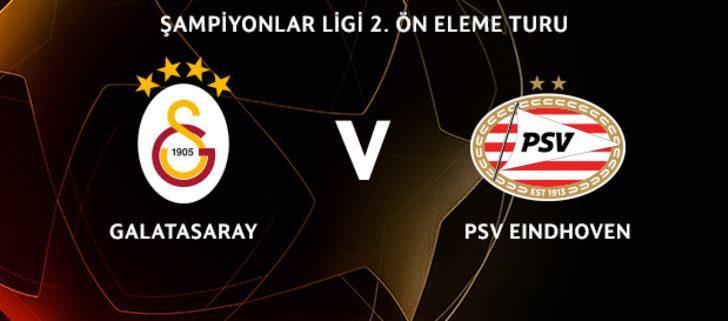 Şampiyonlar Ligi'nde Galatasaray PSV Eindhoven ile eşleşti! Galatasaray – PSV Eindhoven maçı ne zaman?
