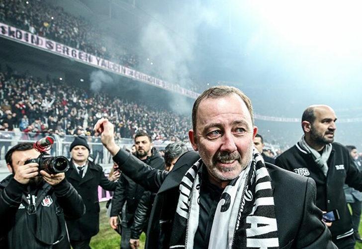 Beşiktaş'ın teknik direktörü Sergen Yalçın'ın kahkaha attıran açıklamaları